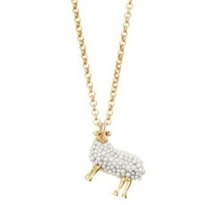 Kate Spade Zodiac Spirit Animals Sheep Pendant